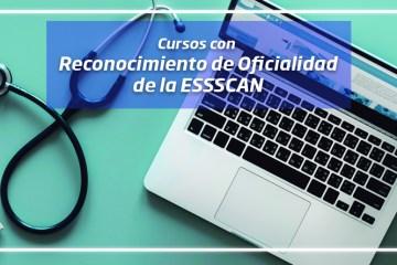 cursos con reconocimiento de oficialidad de la essscan