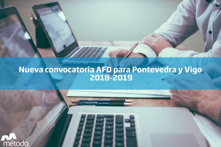 AFD para Pontevedra y Vigo