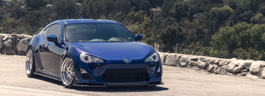 Quick Snap: Michael's Scion FR-S on Klutch SL14 Wheels