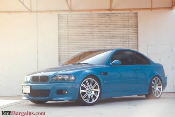 Laguna Seca Blue BMW E46 M3