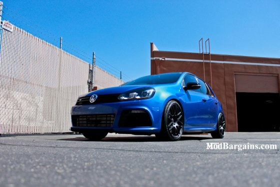VMR V718 Wheels Matte Black on a VW Golf R