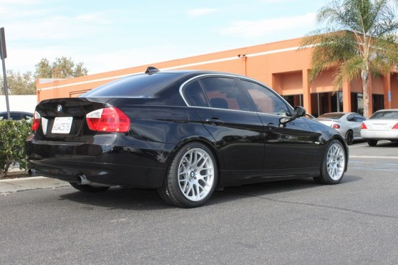 335i Running Rear Spacers on Sportline CS16
