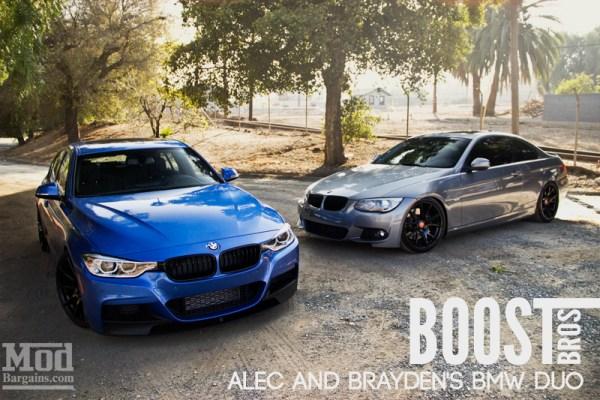 Boost Bros: Alec & Brayden's BMW E92 & F30 Duo