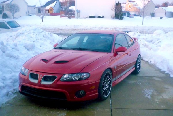 Quick Snap: Sgt. White's '06 GTO on VMR VB3 Wheels