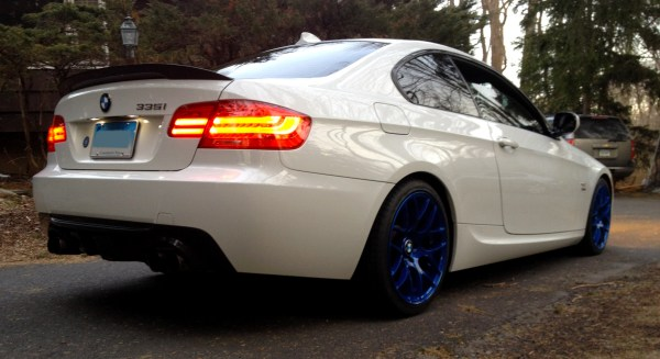 Northeast Accent: Jim R's Unique '11 BMW E92 335iX on Intense VMR V710 Wheels