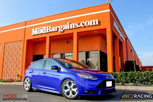 Quick Snap: Yves' Ford Focus ST on BC Racing Coilovers