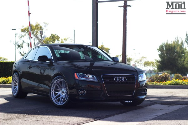 Go Deep:  Audi A5 with Super Deep Forgestar F14s