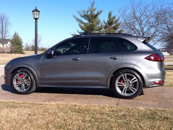 Quick Snap: Porsche Cayenne GT-S on Turbo Style wheels