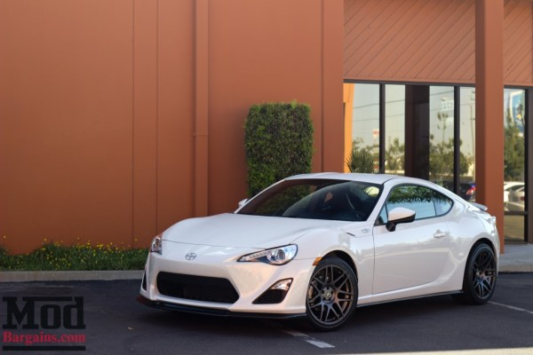 Quick Snap: Scion FR-S on 18in Matte Gunmetal Forgestar F14 Wheels