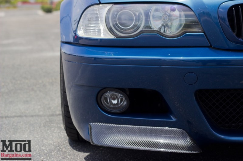 Carbon Fiber CSL Style Front Splitters for 1999-2006 BMW M3 [E46] w/OEM M3 Bumper
