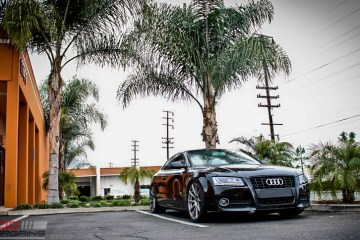 Audi B8 A5 Forgestar CF10 Gunmetal 19x85 KW V2 Coilovers RS Grille (5)