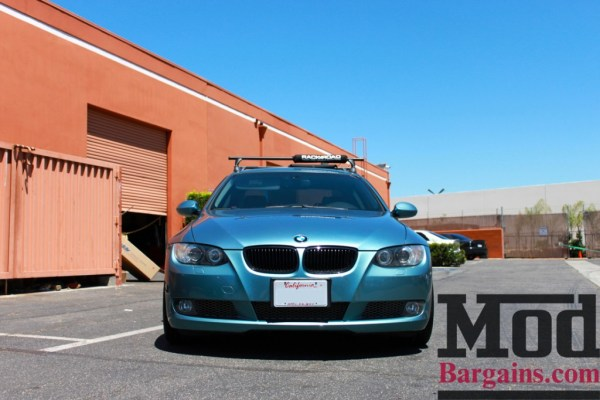 Quick Snap: E92 BMW 335i In Rare Atlantic Blue Stuns on New Forgestar Wheels