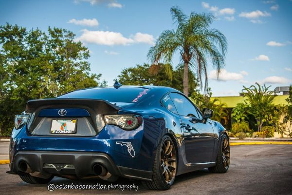 Quick Snap: Scion FR-S on Work Emotion CR-Ultimate Wheels 18×9.5 +38