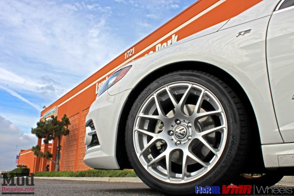 Quick Snap: VW Passat CC on H&R Springs with VMR V710 19in Wheels