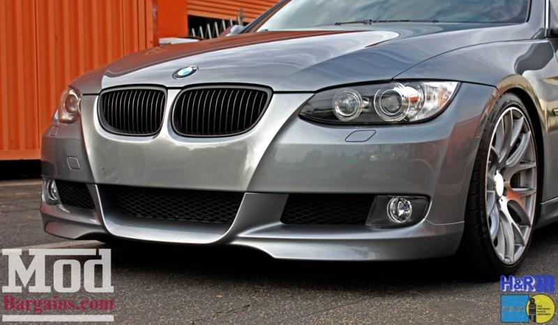 BMW_E92_328i_Gray_CF_Performance_Diffuser_BilsteinShocks_Miro_111_wheels_silver_19x85et35_19x95et33_HRSprings_img015