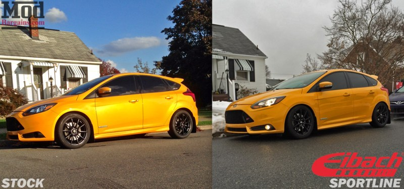 Focus-ST-Eibach_Sportline_Springs_vs_Stock
