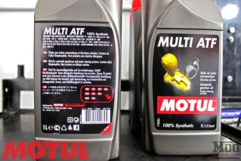 BMW_E9X_335i_Motul_transmission_Fluid_change-3
