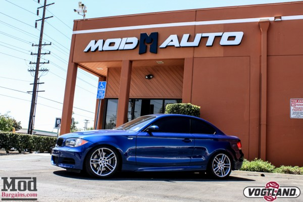 Daily Driven Coilovers: E82 BMW 135i on Vogtland Coilovers