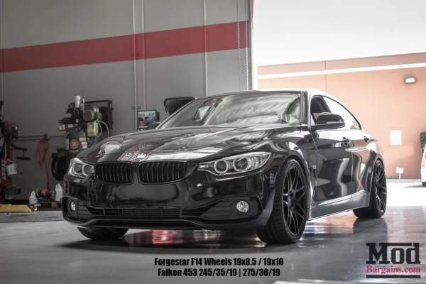 Saturday Edition : What's In the Shop – F36 BMW 428i GranCoupe on BC Coilovers + Forgestar F14s