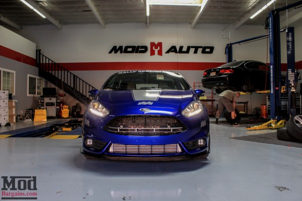 Project Fiesta ST Gets UrbanX Ready with Rally Innovations Splitter & Spoiler