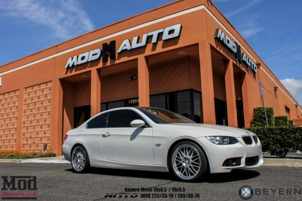 Quick Snap: Carben's clean Alpine BMW E92 335i gets an M3 Bumper + Injen Intake