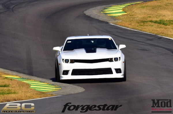 Quick Snap: Camaro on Forgestar CF5V Wheels hits the track at VIR
