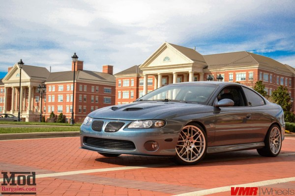 LJ's Pontiac GTO on VMR V703 Wheels is a Master of Subtlety