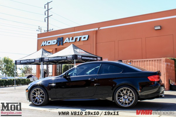 VMR V810 Wheels on Black BMW E92 M3: The perfect pairing?