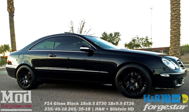 mercedes-clk350-on-forgestar-f14-gloss-black-18x85et30-18x95et26-hr-springs-bilstein-shocks-img002