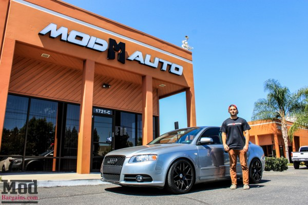 Ryan's B7 Audi A4 2.0T on VMR V710 Wheels & H&R Springs Joins Project Car Garage