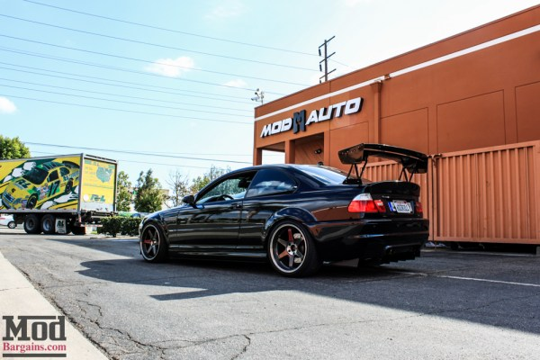 Gio's Demon E46 BMW M3 gets Motul Oil Change @ ModAuto