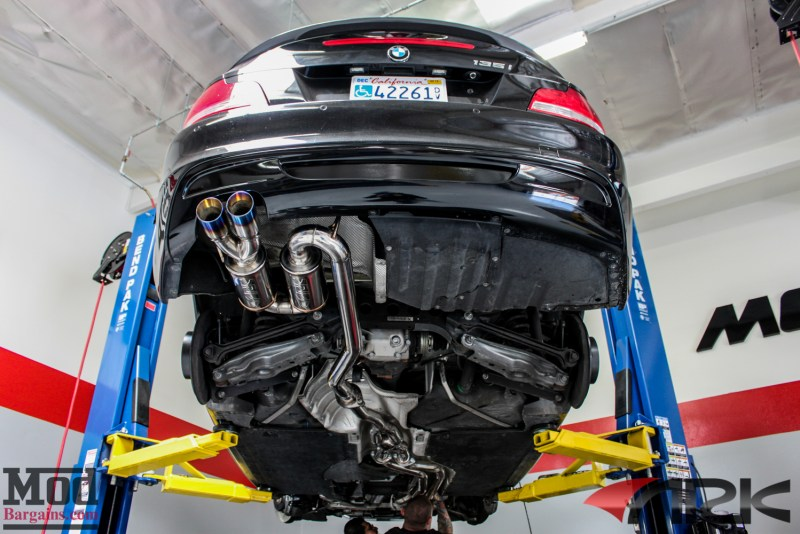BMW_E82_135i_ER_FMIC_CP_Injen_Intake_Ark_Exhaust_COBB_AP_Forgestar_CF5-15
