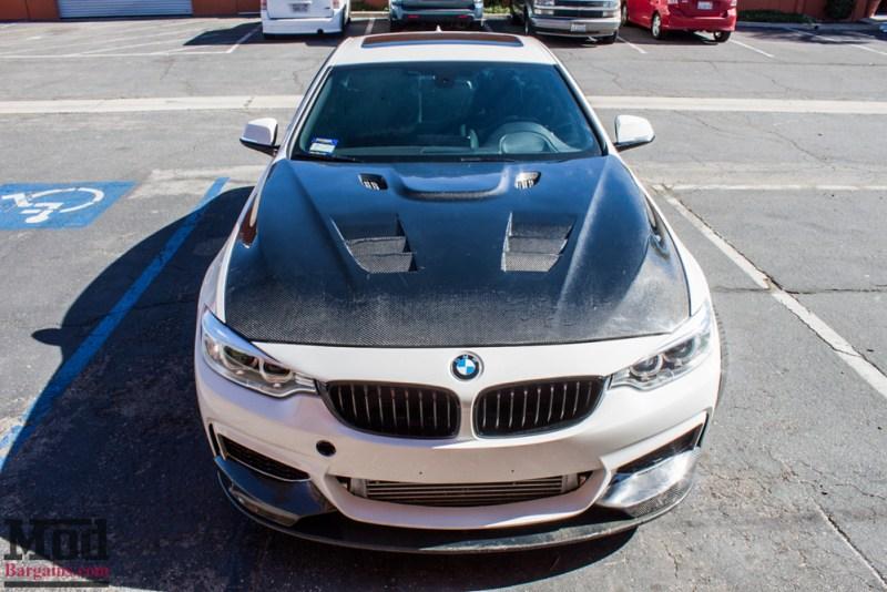 BMW_F32_428i_Rohana_RF2_MatteBlack_CFHood_Splitter_Skirts_Diff_4