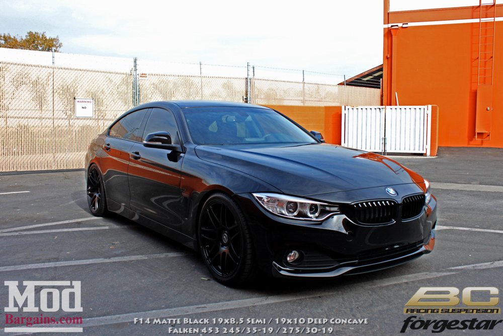 quick snap f36 bmw 428i grancoupe on forgestar f14s bc coilovers blog. Black Bedroom Furniture Sets. Home Design Ideas