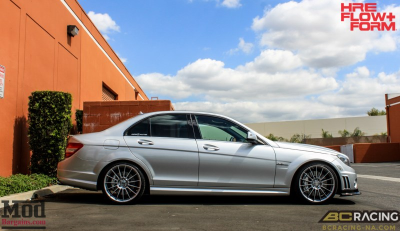 Mercedes_W204_C63_AMG_BC_ER_Coilovers_HRE_FF15_CF_Lip_Diffuser-2