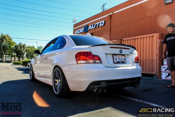 Quick Snap: BMW E82 135i BC Coilovers Installed @ ModAuto