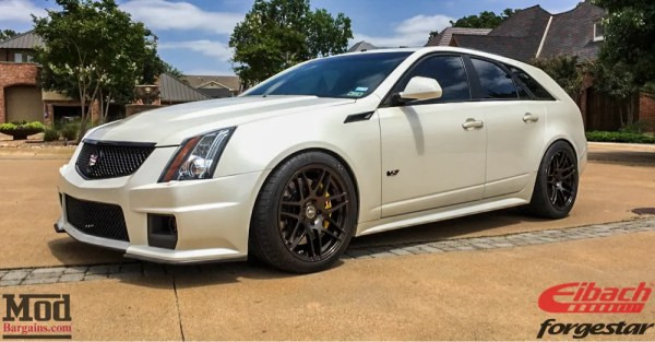 WHIPLASH: An Insane 707HP CTS-V Wagon on Forgestar F14 Wheels
