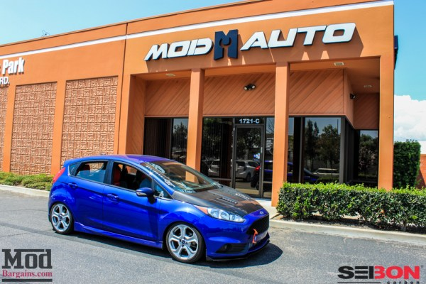 New Fiesta ST RS Style Carbon Fiber Hoods Now @ ModBargains!