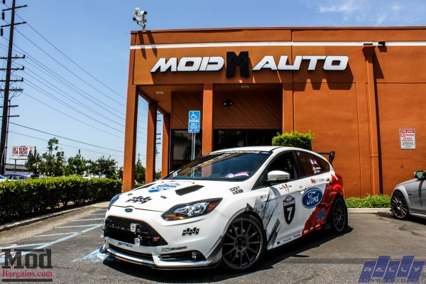 Quick Snap: Rally X Modded Focus ST Visits ModAuto (+ Video!)