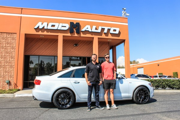 LA Kings' Tanner Pearson gets Avant Garde M510s on his C7 Audi A6 @ ModAuto
