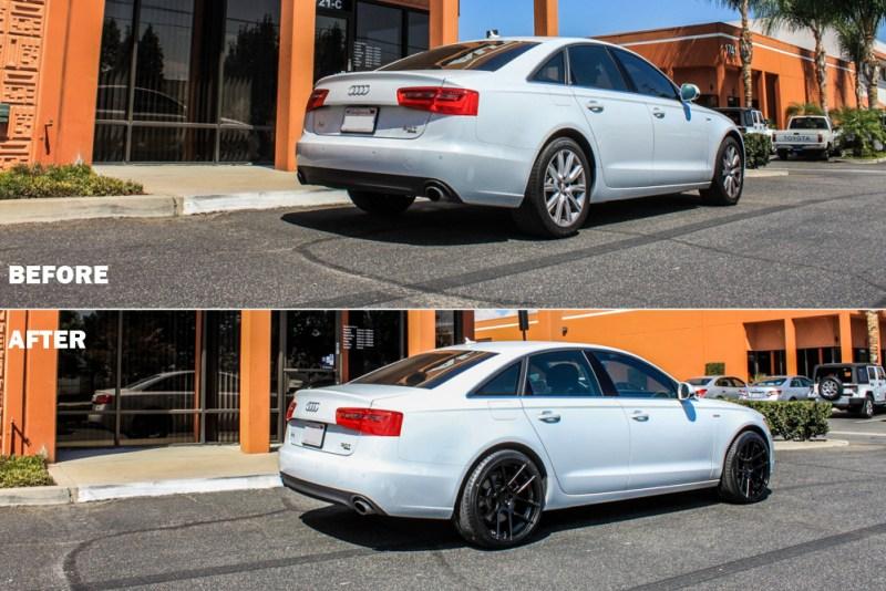 Audi-C7-A6-Tanner-Pearson_LA_KINGS-Avant_Garde_M510-before-after-rear34