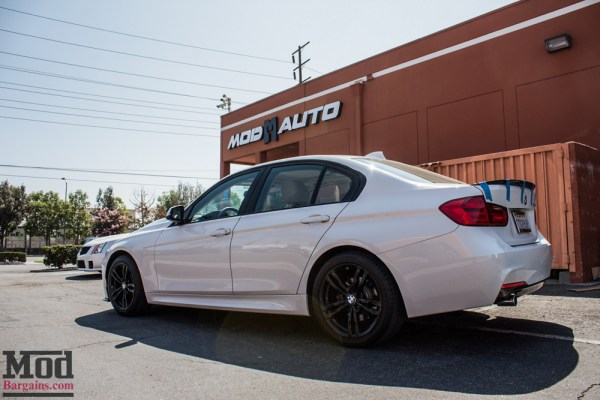 One Good Lookin' D: F30 BMW 328d Carbon Fiber Exterior Upgrades