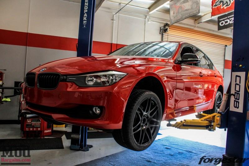 BMW_F30_328i_Red_CF_Forgestar_F14_SemiGlossBlack (10)