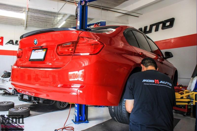 BMW_F30_328i_Red_CF_Forgestar_F14_SemiGlossBlack (8)
