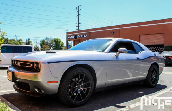 Quick Snap: Dodge Challenger on Niche Targa Wheels rocks the Retro Look