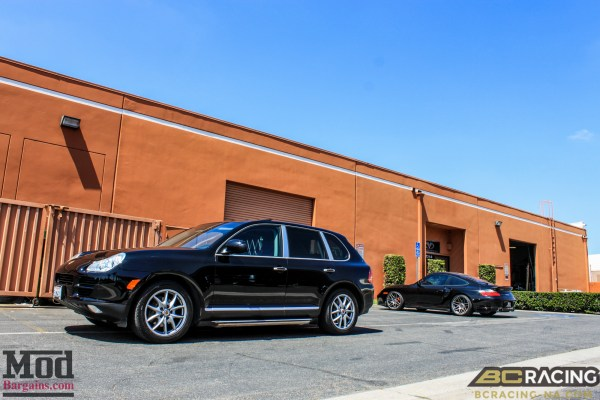 Quick Snap: Porsche Cayenne on BC Coilovers Gets Low