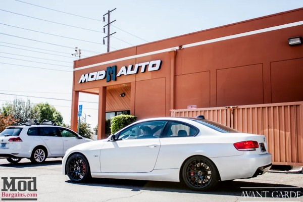 E92 BMW 335i Big Brake Kit from AP Racing + Remus Quad Exhaust Installed @ ModAuto