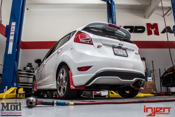 Customer Review: Johns' Single-Tip Fiesta ST Exhaust by Injen Installed @ ModAuto