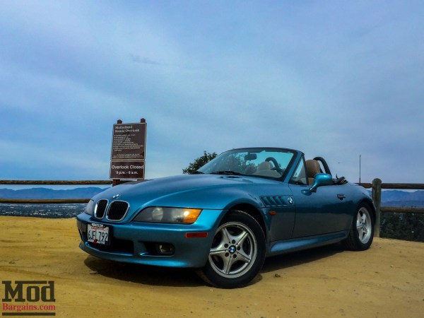 Learning the Importance of Good Tires in a BMW Z3 Roadster with Hankook