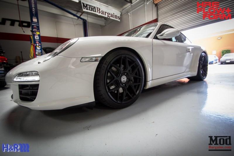 Porsche 997 Carrera HRE FF01 Tarmac on HR Springs (3)